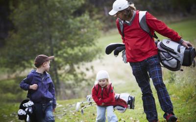 Høst- fortsatt mulighet til å spille både golf & croquet