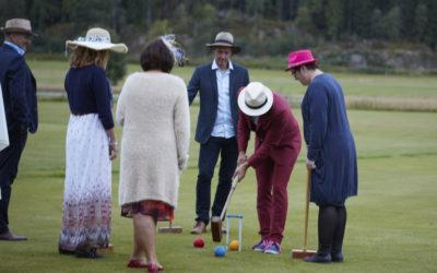 Croquet banene er åpne for sesongen, ta med deg venner, familie eller jobben for en felles aktivitet !